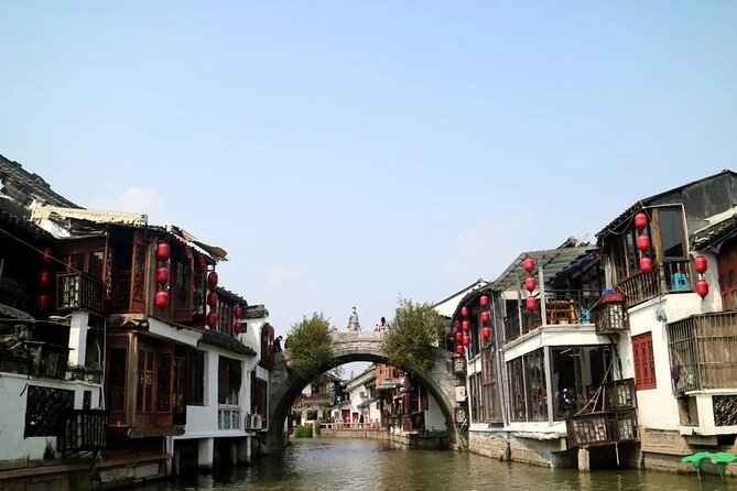 Zhujiajiao Water town and Shanghai in 1930s