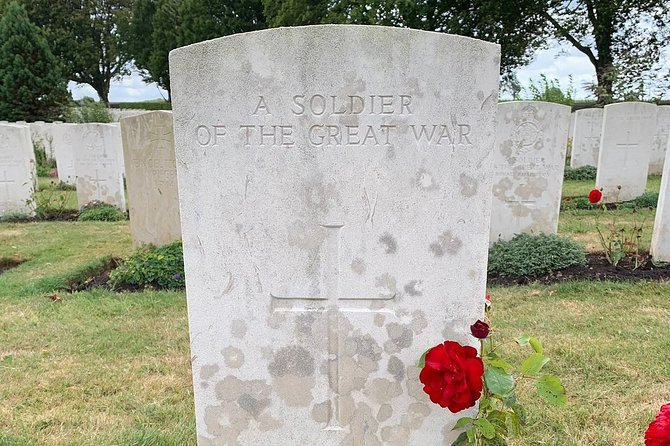 The Battle of the Somme Guided Day Tour from Arras