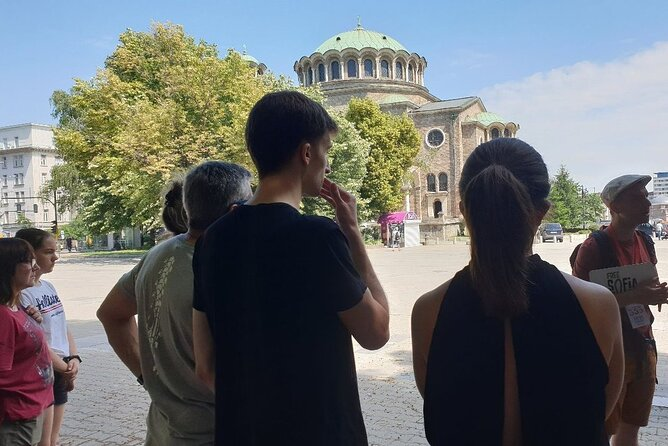 Small-Group Alternative Tour in Sofia with Treasure Hunt