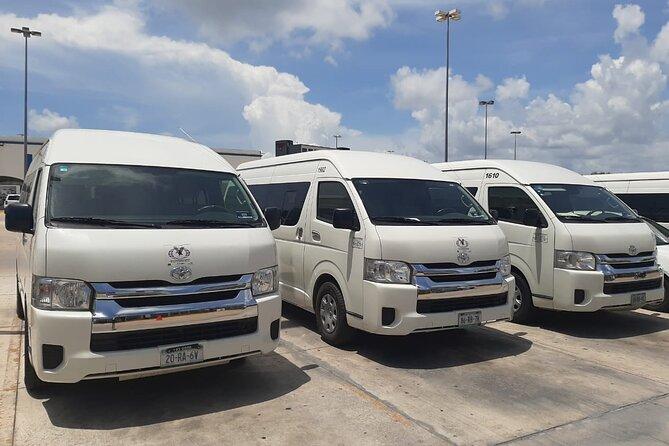 Transfer Airport - Hotel (Puerto Juarez- Playa Mujeres Zone)