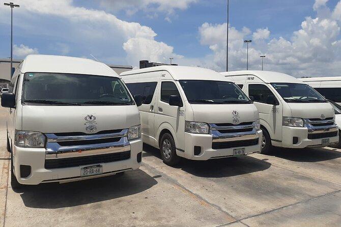 Transfer Airport - Hotel - Airport (From Paradisus Esmeralda to Playacar)