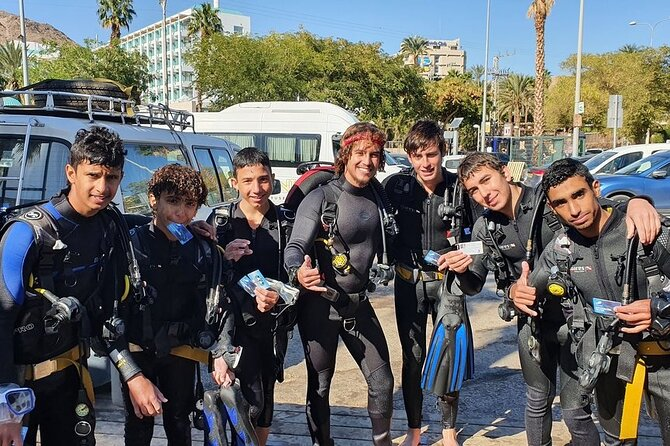 Private Introduction Dive Experience in Eliat