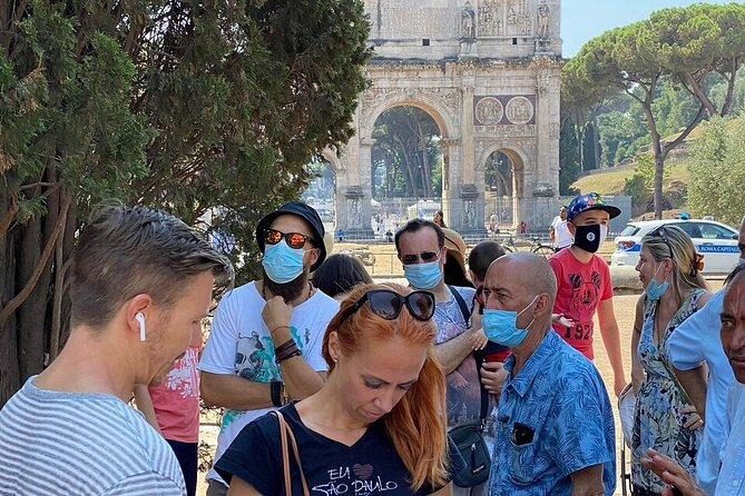 Colosseum and Foro Romano Tour with Palatine hill