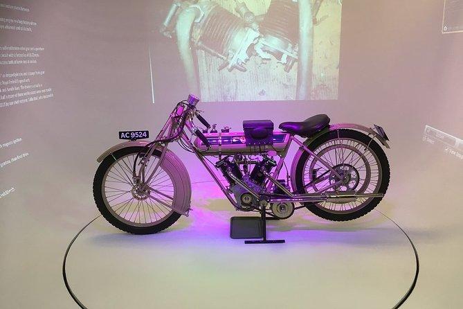 Entrada al Museo de la Motocicleta