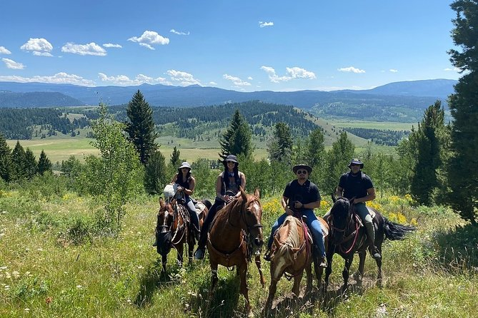 Horseback Riding in the Bridger-Teton National Forest