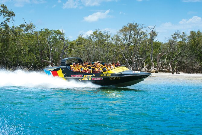 Jet-Boat 30 Minute Express Ride and Helicopter Flight from the Gold Coast