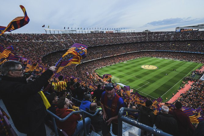 Private Football Club Barcelona Tour with Friendly Local Guide