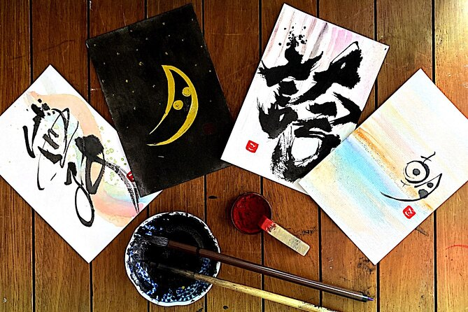 Japanese Calligraphy Virtual Experience from Tokyo