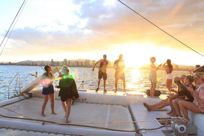 Barcelona Catamaran Party Sail