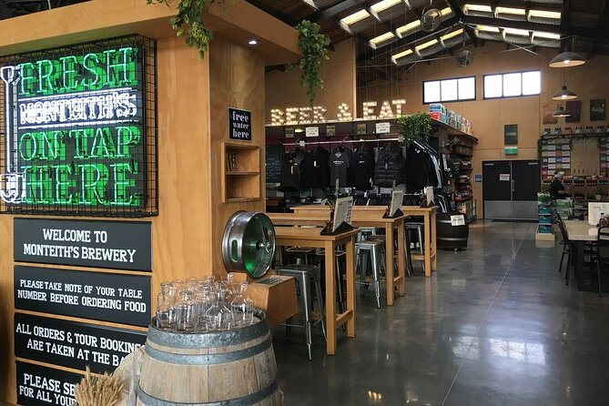 Monteith's Brewery Tour