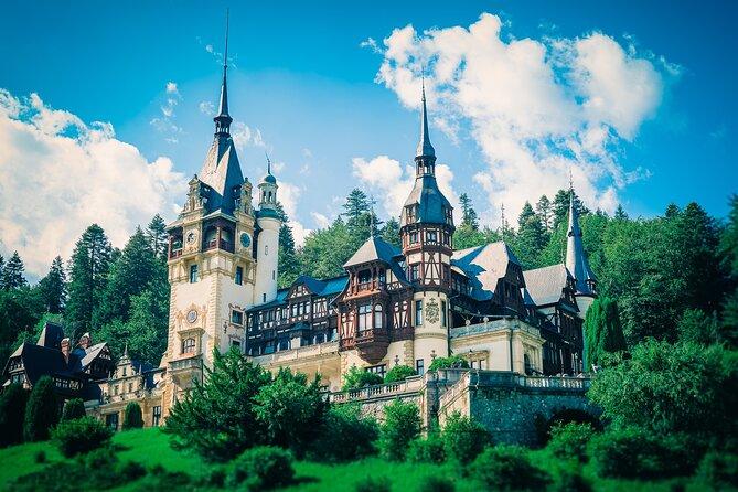 Day trip to Transylvania with Peleș Castle kings stories & Brasov