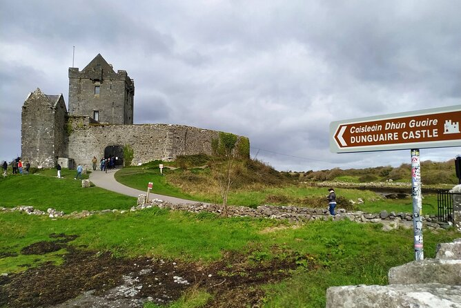 Cliffs of Moher, Galway and Dunguaire Castle with Spanish Speaking Guide