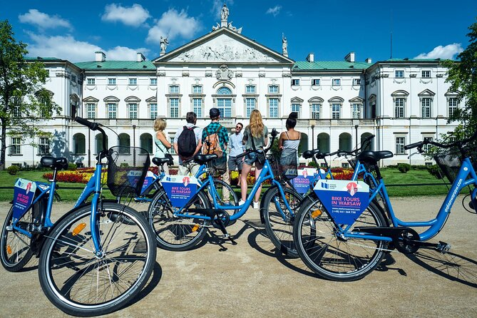 Half-Day Warsaw City Sightseeing Bike Tour for Small Group