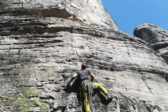 Private Full-Day Rock Climbing Experience in Cesky Raj