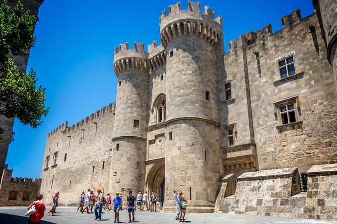 Old Town Rhodes and Grand Master Palace Private Walking Tour