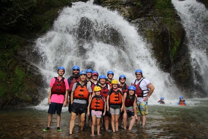 Whitewater Rafting Savegre Class II-III plus Waterfall Brake Manuel Antonio