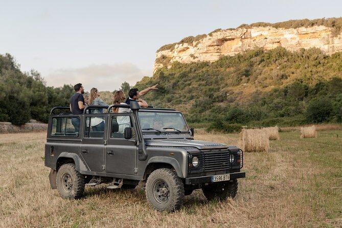 Sunset Jeep Safari Menorca
