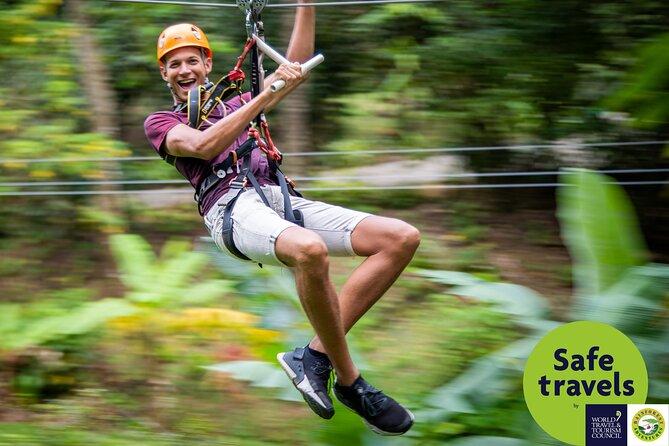Adrena-Line Zipline Canopy Tour at Rainforest Adventures St. Lucia