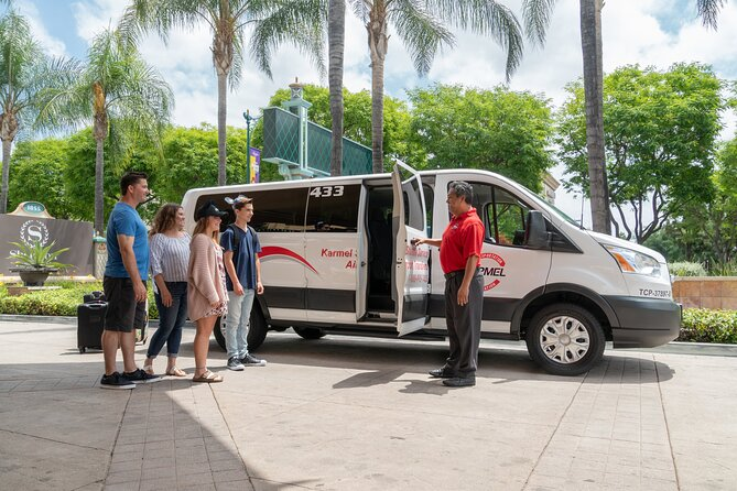 Private Van transfer: Long Beach & San Pedro Cruise Terminals to LGB airport