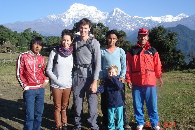 One Day Hike To Australian Camp From Pokhara