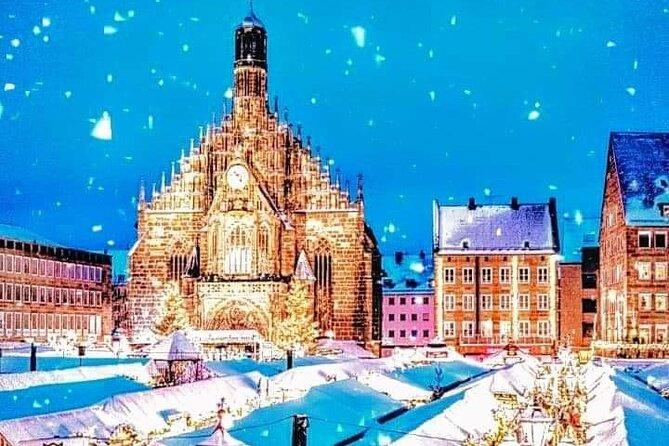 Magische KERSTMARKTEN: Neurenberg en Regensburg EXCLUSIEVE TOUR vanuit München