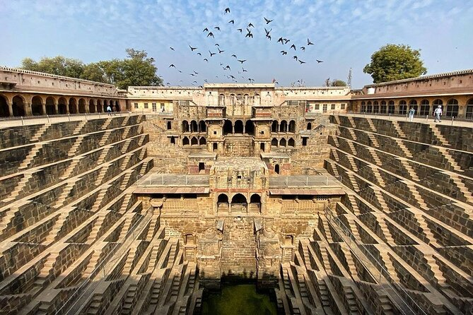 Abhaneri Stepwell Day Trip from Jaipur