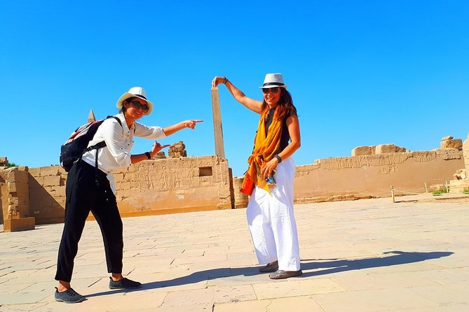 Full Day Tour to Best Monuments of Luxor From Aswan