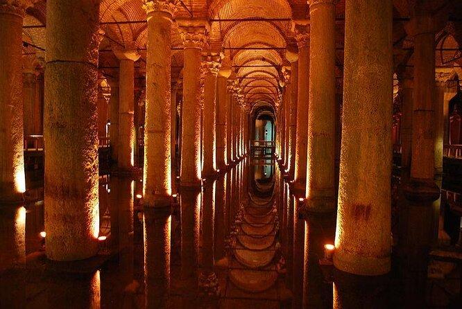 Cisterna Basilica (Yerebatan Sarayi)