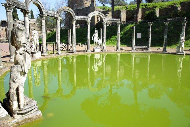 Hadrians villa (Villa Adriana) og Villa d'Este i Tivoli