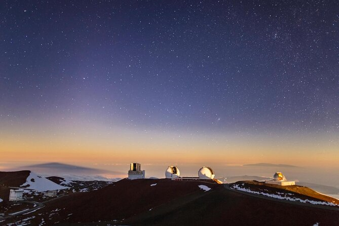 Cumbre y observatorio de Mauna Kea