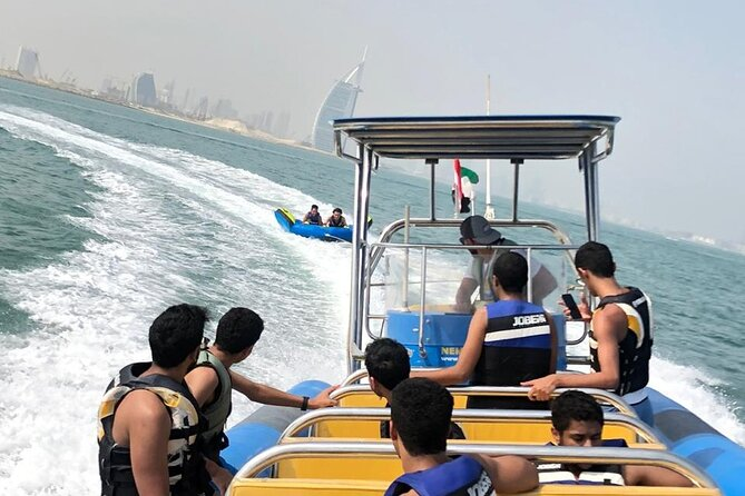 Private 30-min Group Tubing on Speedboat in Dubai