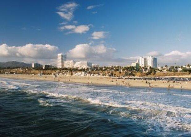 Santa Monica Beach und Pier
