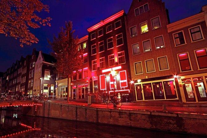 Quartier rouge d'Amsterdam (De Wallen)