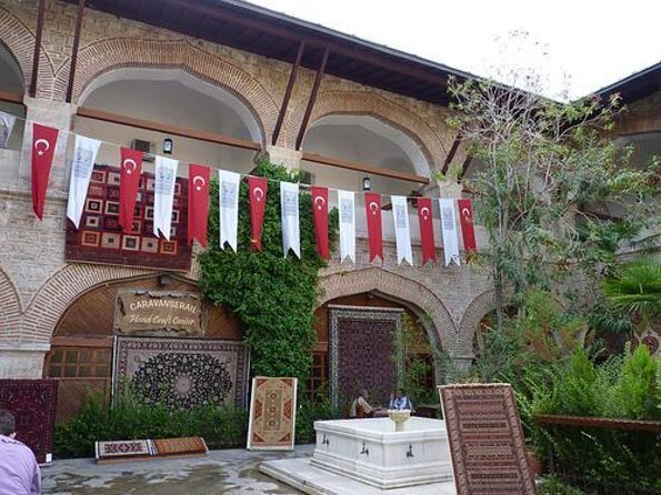 Kusadasi Caravanserai (Öküz Mehmed Pasha Caravanserai)