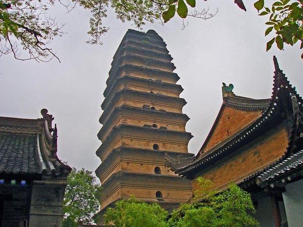 Xian Museum & Small Wild Goose Pagoda (Xiaoyanta)