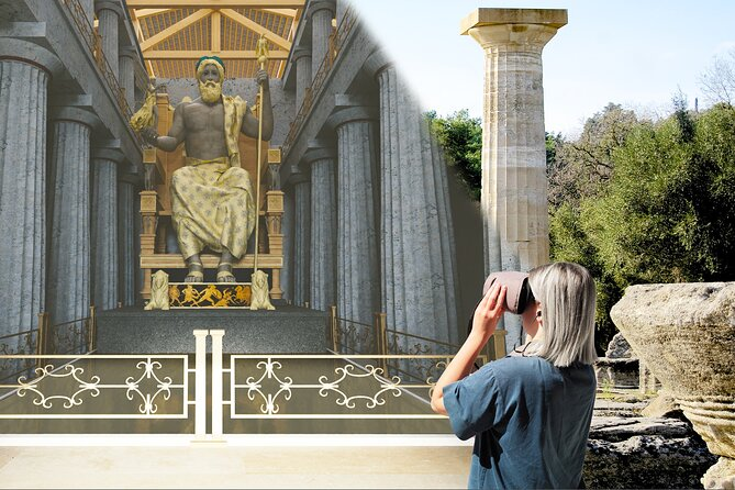 Olympia Walking Tour with Virtual Reality Glasses