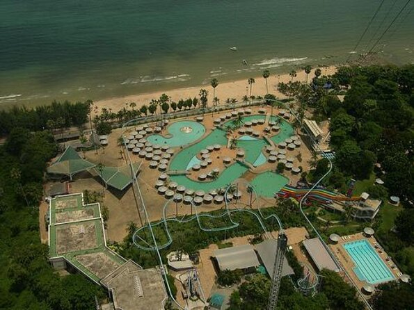 Pattaya Water Park at Pattaya Park Beach Resort