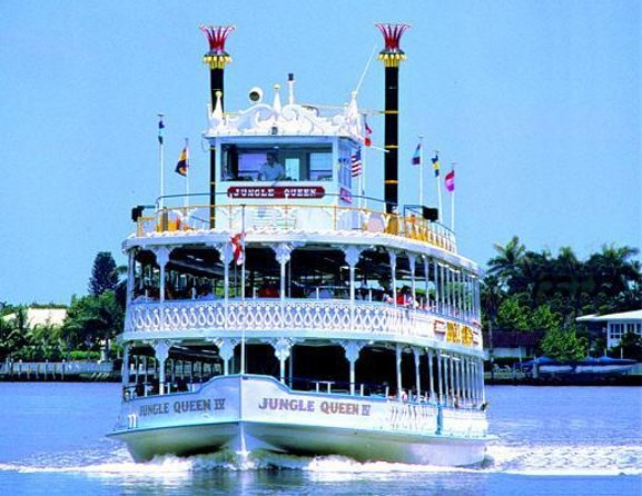 Jungle Queen Riverboat