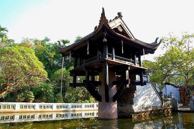 One-Pillar Pagoda (Chua Mot Cot)