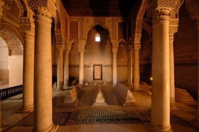 Saadian Tombs (Tombeaux Saadiens)