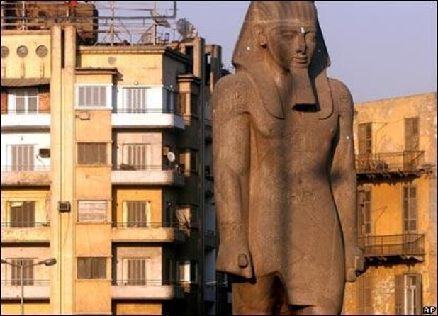 Ramses II Statue at Giza