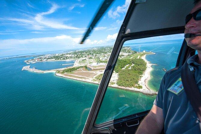 Recorrido en helicóptero por la isla de Cayo Hueso
