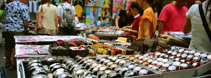 Mercato notturno di Temple Street (Men's St.)