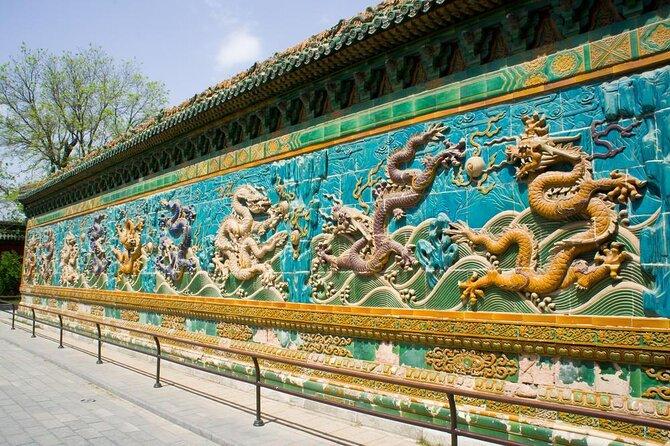 Tela dos Nove Dragões no Museu do Palácio