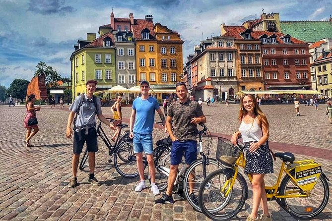 Highlights of Warsaw by Bike