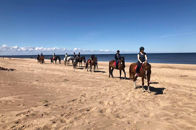 Private Horse Riding on the Beach in Riga