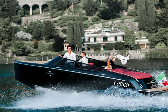 Private Boat Tour on the Lake Como