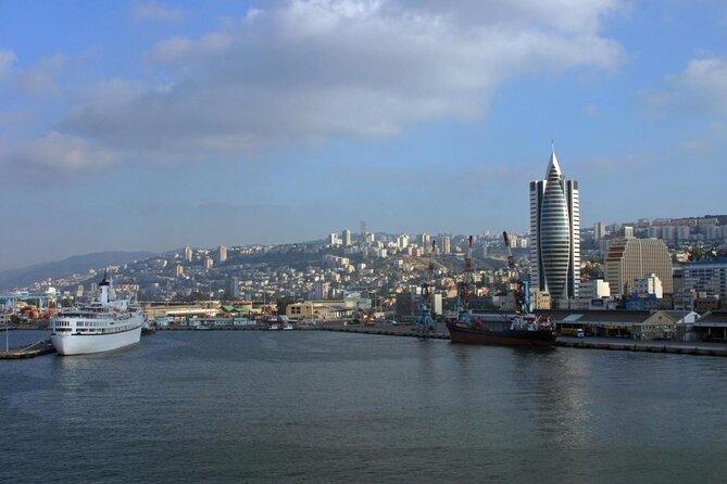 Terminal de cruceros del puerto de Haifa