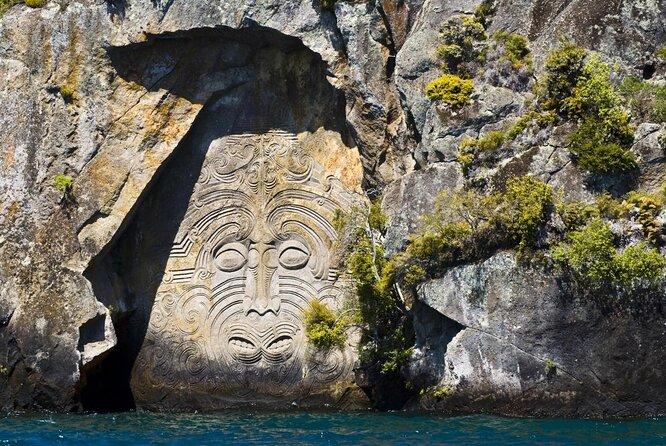 Incisioni rupestri di Mine Bay Maori