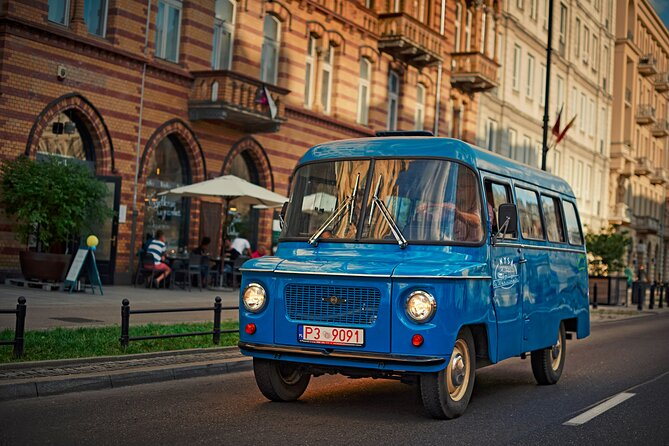 City Tour at Warsaw by Retro Bus
